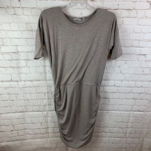 Athleta Solstice Sheath Taupe Dress